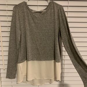 Lightweight sweater blouse
